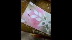 Mewarnai Dengan Sisir Dan Sikat Gigi Bekas Sma Muhammadiyah Banda Aceh