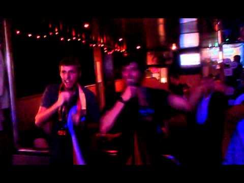 karaoke in hamburg feat. mack morrison.