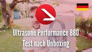 Premium & kabel-gebundene Kopfhörer | Ultrasone Performance 880 Test nach Unboxing