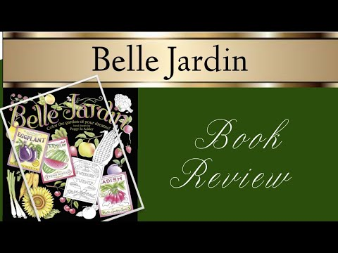 Belle Jardin Colouring Book Review