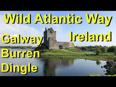 Ireland's Wild Atlantic Way from Galway to Burren and Dingle