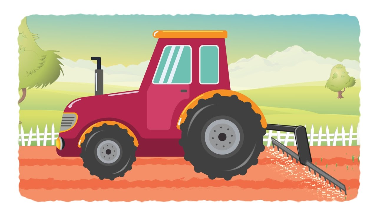tractor for kids tractor videos for children kids channel learn vehicles youtube