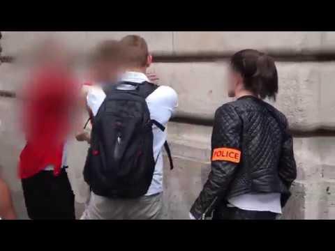 Bagarre a Paris 18 eme Arabe et police