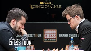Обзор матча с Магнусом Карлсеном