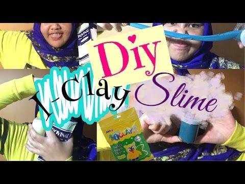 DIY I-clay Slime !