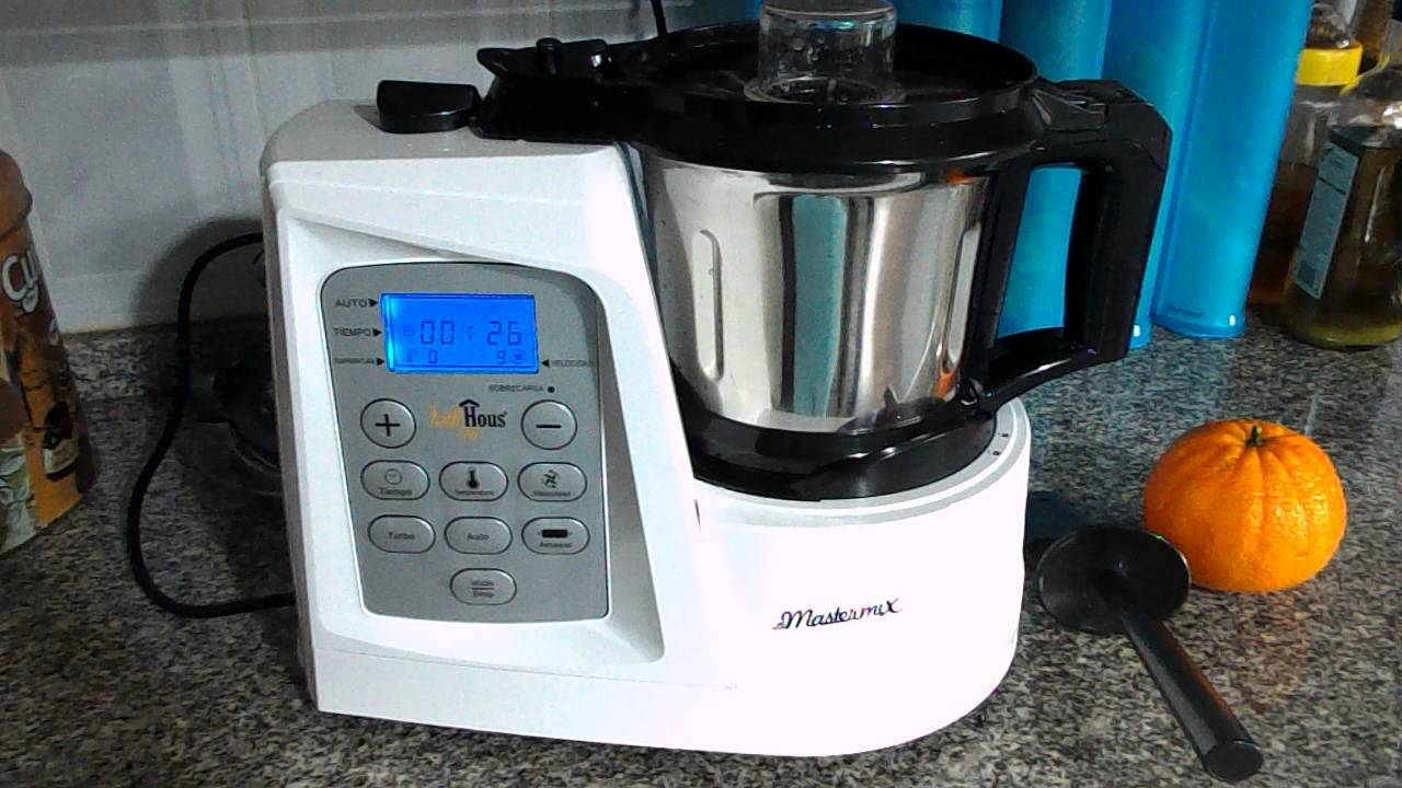 mastermix robot cozinha 4 - YouTube