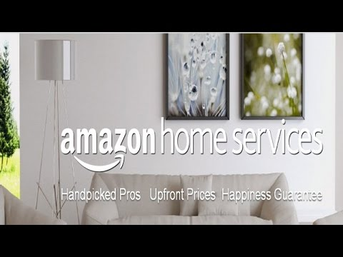 "Amazon launches ""Home Services"" to get/sell professional services"