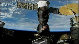 Soyuz MS-03 Undocking (time lapse)