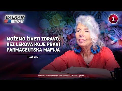 INTERVJU: Maja Volk - Možemo živeti zdravo i bez lekova koje pravi farmaceutska mafija! (19.07.2018)