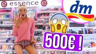 Ich darf ALLEINE NACHTS für 500€ bei DM shoppen! 😱😍 IHR bestimmt LIVE + GEWINNT ALLES! 😍