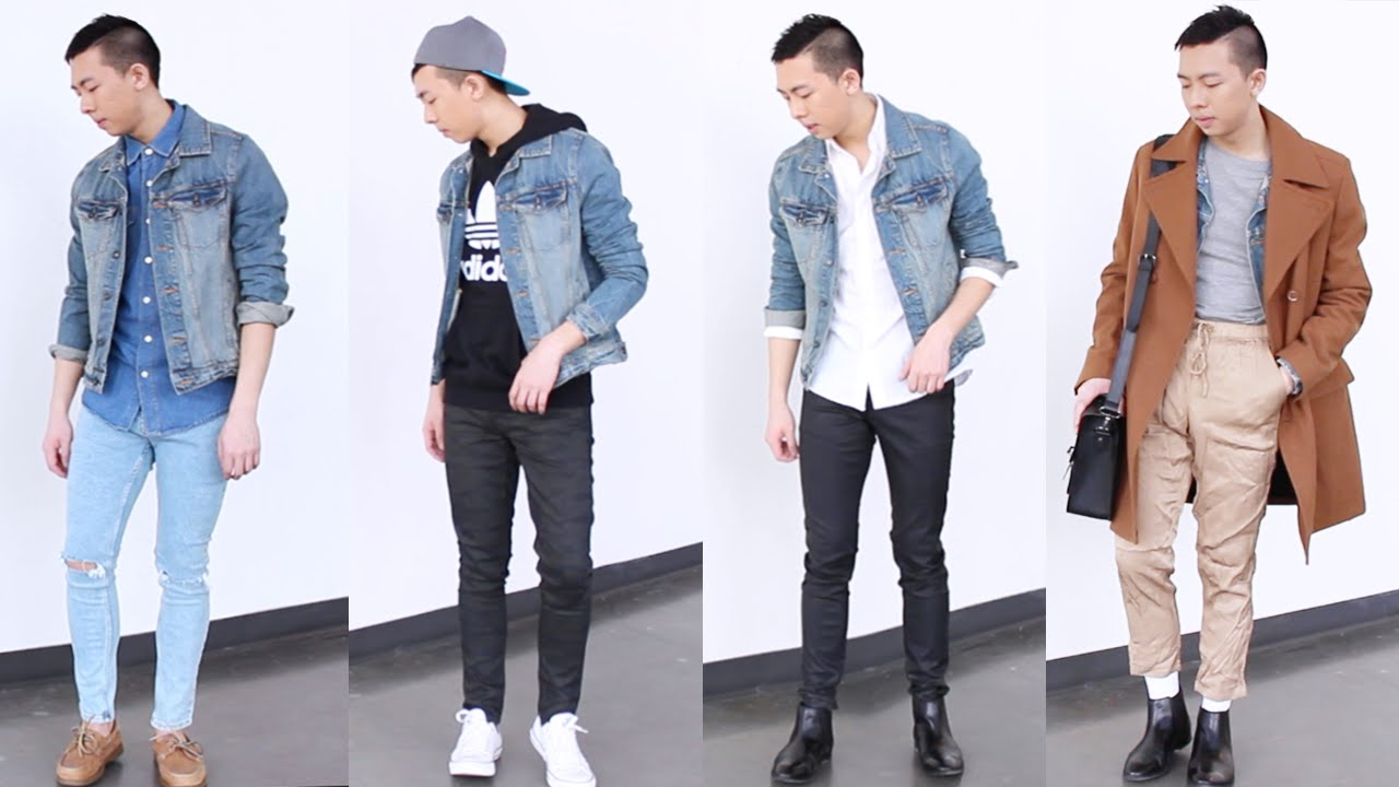 HOW I STYLE: DENIM JACKET | MENS FASHION & STYLE - YouTube