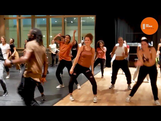 Afrodancehall workshop by Jay-C Val at le Carreau du Temple