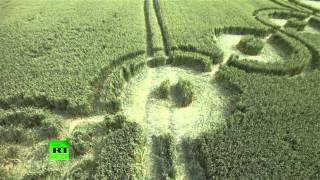 Aux frontières du réel : images aériennes des cercles mystérieux dans le sud de la Russie