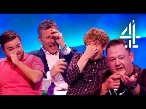 Johnny Vegas Has EVERYONE CRY LAUGHING & Completely Ruins The !!  The Last Leg  Outtakes