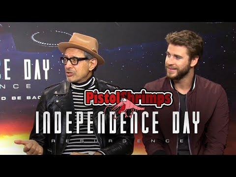 Brainstorming with Jeff Goldblum, Liam Hemsworth and Roland Emmerich | PistolShrimps