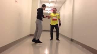 Shahbulat Shamhalaev and Musail Alaudinov backstage (Red Fury Fight Team)