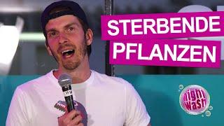 Simon Stäblein – Wenn Pflanzen schreien könnten