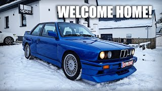 SURPRISE! Robert's New BMW E30 M3 | First Drive & Info