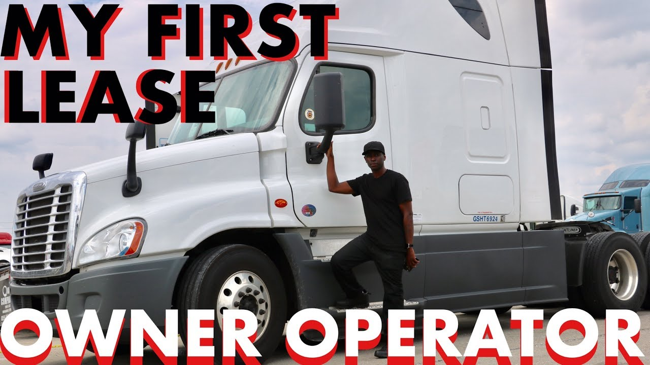 My First Quality Leased Truck Owner Operator - YouTube