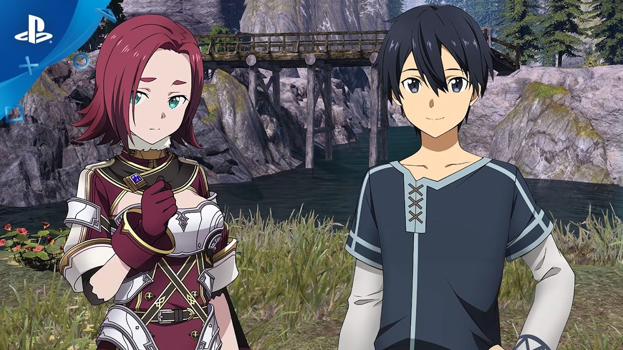 Sword Art Online Alicization Lycoris Avatar Customization Trailer Ps4 Youtube