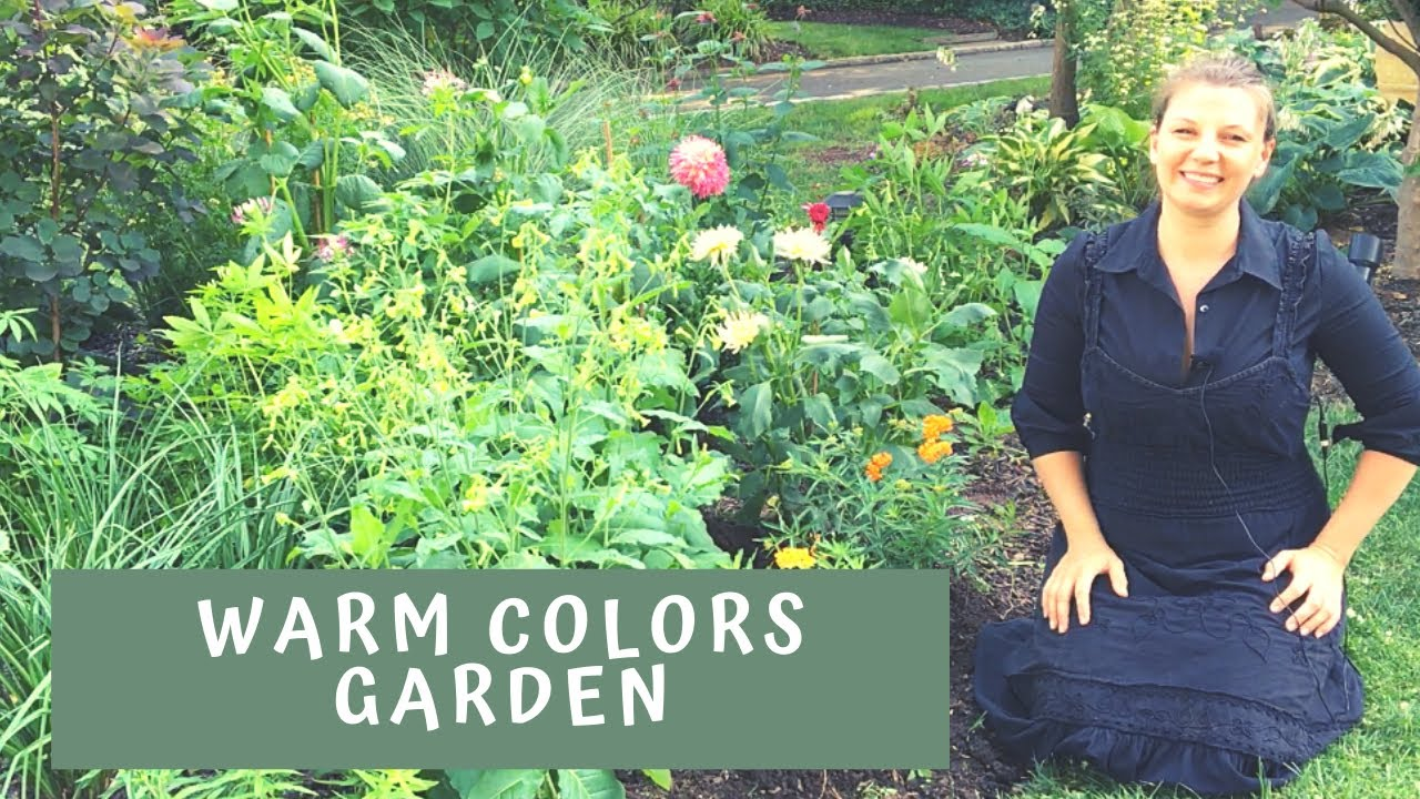 🌼 Warm Colors Flower Bed ~ Planting Milkweed ~ Y Garden 🌼