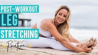 5 Minute Post Workout Leg Stretching (Follow Along)