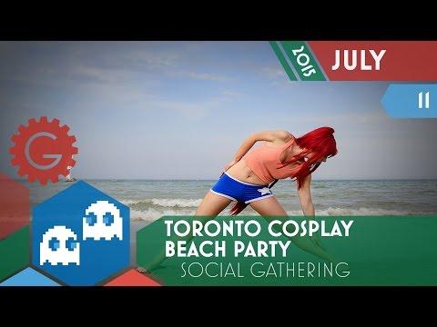 Toronto Cosplay Beach Party - Geektropolis Toronto Geek Event Calendar