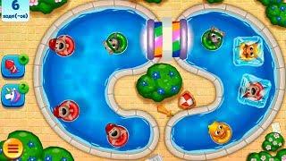 ГОВОРЯЩИЙ ТОМ АКВАПАРК   #8 мультик игра видео для детей  Talking Tom Pool Egg Hunt #УШАСТИК KIDS
