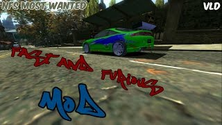 NFS Most Wanted - Fast & Furious MOD (DOWNLOAD)