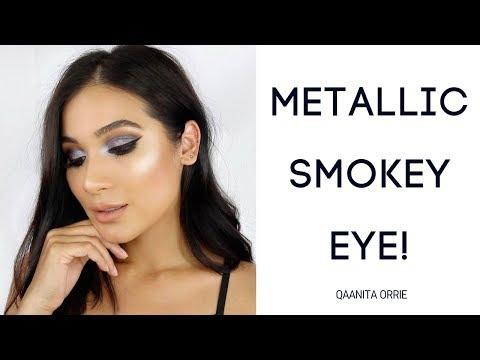 Metallic Smokey Eye | QAANITA ORRIE