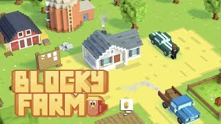 Blocky Farm | Gameplay Preview [iOS, Android]