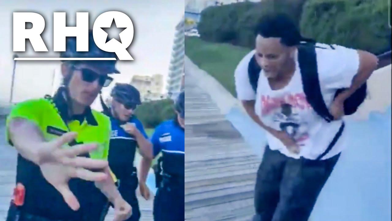 Cops Taser Black Teens For Vaping (VIDEO)
