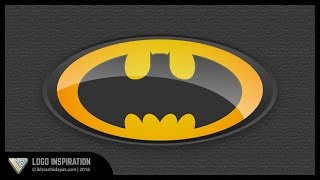 Logo Inspiration | How to make Batman Logo | illustrator tutorial
