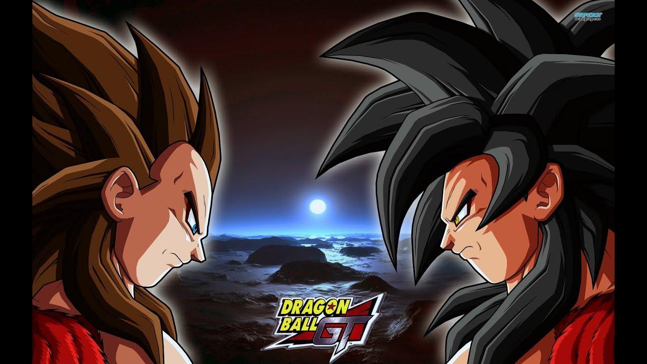 Download Goku vs Vegeta Dragonball GT english dub