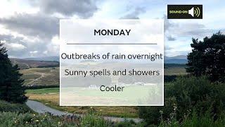 Monday Scotland weather forecast 14/06/21