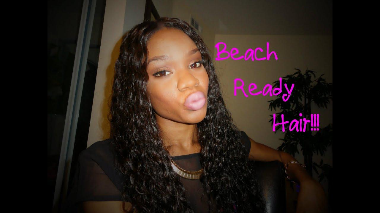 Beach Ready Hair!!! From Divaswigs.com - YouTube