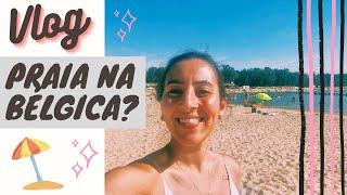 VLOG - Praia na Bélgica! Sport Vlaanderen Hofstade