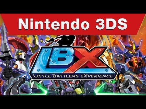 Nintendo 3DS - Little Battlers eXperience Announcement Trailer