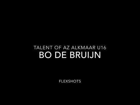 Talent of Az Alkmaar U16 | Bo de Bruijn | FlexShots |