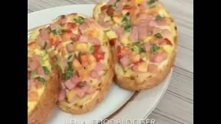 Бутерброды за 10 минут. Рецепт в описании