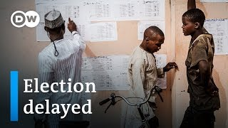 Nigeria election 2019 suspended just before polls were to open | DW News