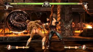 Mortal Kombat Komplete Edition PC - Kung Lao Ladder Mode Gameplay on Expert.