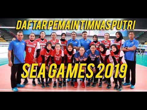 DAFTAR PEMAIN TIMNAS VOLI PUTRI INDONESIA, SEA GAMES 2019 !!! PBVSI SUDAH RESMI UMUMKAN