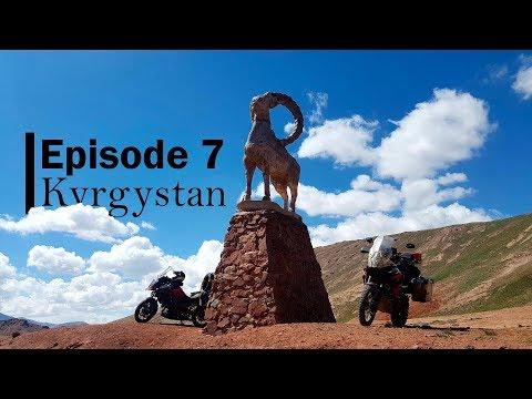 Motorcycle ride in Kyrgyzstan | Motorcycle adventure to Mongolia | KTM 1190 & Suzuki V-Strom 1000