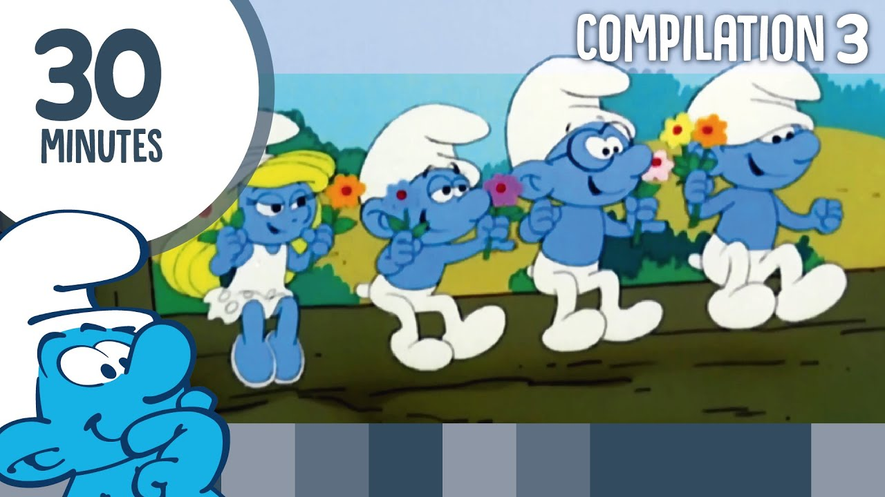 30 Minutes of Smurfs • Compilation 3 • The Smurfs