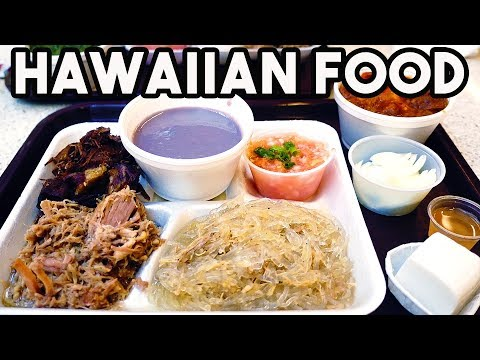 Truly Authentic HAWAIIAN FOOD in Honolulu