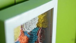 как сделать глубокую рамку своими руками! / DIY shadowbox из картона