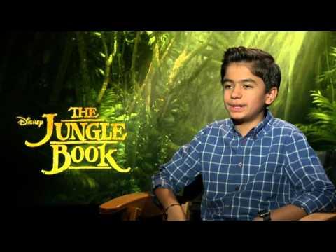 "The Jungle Book ""Mowgli"" Interview - Neel Sethi"