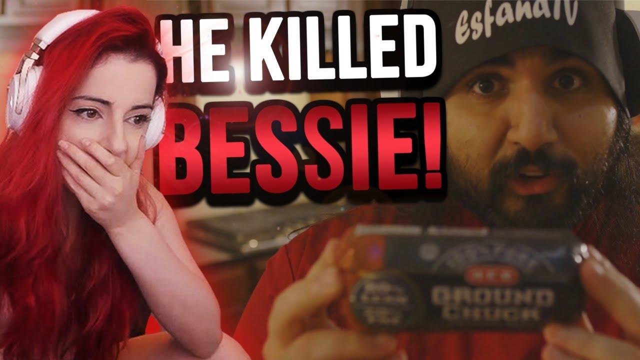 Esfand KILLED Bessie the Cow?! #shorts