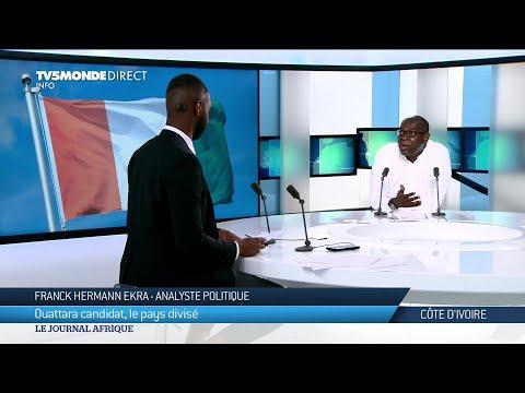 """On a mal à notre Côte d'Ivoire"",  Franck Hermann Ekra"